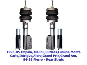2000-2006 Holden Commodore Front Air Suspension, Strut Kit (no fittings)