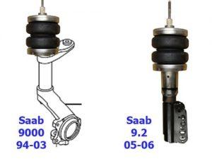 1994-2003 Saab 900, 9-3, Saab Front Air Suspension, Strut Kit (no fittings)