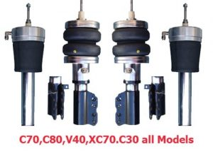 1974-1993 Volvo 240, 260 Front Air Suspension, Strut Kit (no fittings)