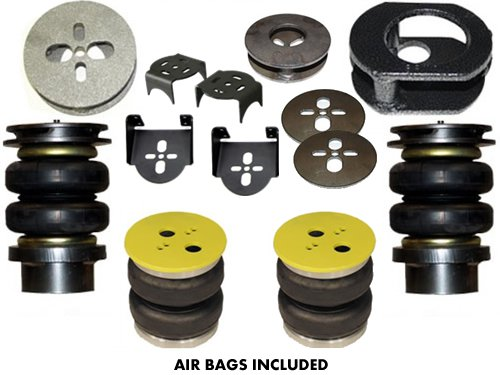 1998-2003 Isuzu Rodeo, Amigo, Frontera, Mu Rear Air Suspension, Bracket Kit (no fittings)