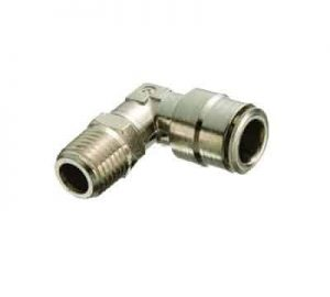 Elbow Male 3/8 (NPT) To 3/8 (Tube) Air Fitting