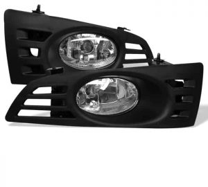 03-04 Honda Accord 2Dr OEM Fog Lights – Clear