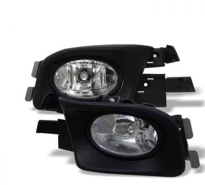 03-05 Honda Accord 4Dr OEM Fog Lights – Clear