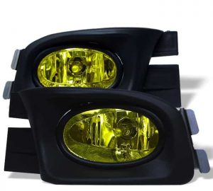 03-05 Honda Accord 4Dr OEM Fog Lights – Yellow