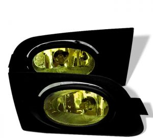 01-03 Honda Civic 2/4Dr OEM Fog Lights – Yellow