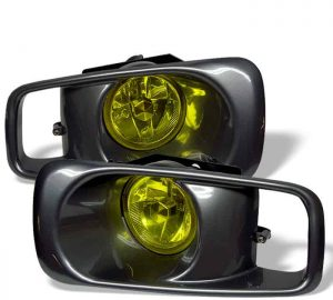 99-00 Honda Civic OEM Fog Lights – Yellow