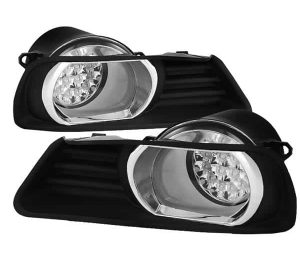 07-09 Toyota Camry LED Fog Lights – Clear