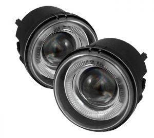 06-10 Dodge Charger / 07-12 Caliber / 05-07 Caravan / Nitro 41466 / Avenger 41496 / Chrysler Pacifica 41372 /Sebring Sedan 41465 / Sebring Conv. 41496/ Jeep Patriot 41464 / Compass 41465 Halo Projector Fog Lights – Clear