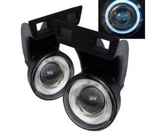 1994-2001 Dodge Ram 1500 / 1994-2002 Dodge Ram 2500,3500 Halo Projector Fog Lights – Clear
