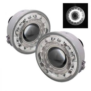 06-10 Ford F150 (Manufacturer Date Aug 2005 to June 2010) / Lincoln Mark LT 41433 Halo Projector Fog Lights – Clear