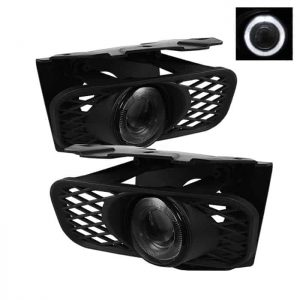 99-03 Ford F150 / 04 F150 Heritage / 99-02 Expedition (Not Fit Lightning) Halo Projector Fog Lights – Smoke