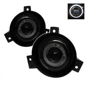 01-03 Ford Ranger (Circle Sharp Bumper) Halo Projector Fog Lights – Smoke