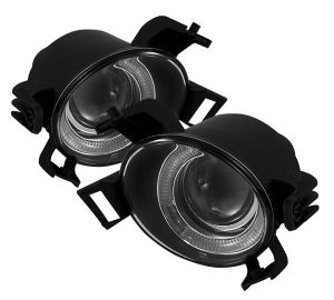 05-06 Nissan Altima (Not Fit SE-R) / Nissan Quest 41370 Halo Projector Fog Lights – Clear