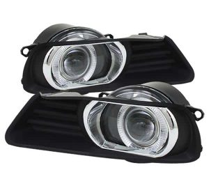 07-09 Toyota Camry Halo Projector Fog Lights – Clear