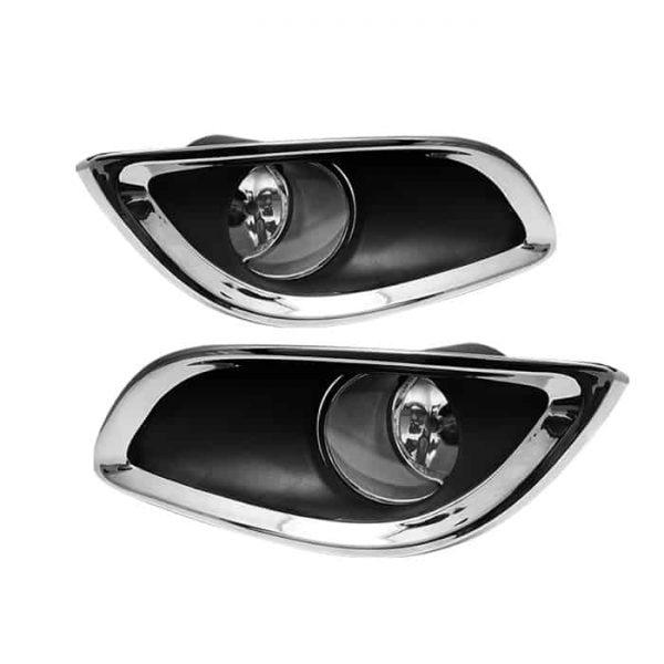 09-11 Toyota Yaris 3DR OEM Fog Lights – Clear