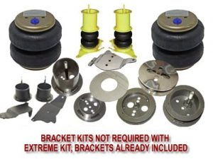 1985-2000 Mercedes C180, C203, C220, C230, C280 Front Air Suspension, Bracket Kit (no fittings)
