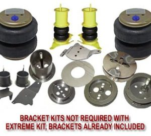 1965-1991 Mercury Grand Marquis, Crown Victoria, Monterey Front Air Suspension, Bracket Kit (no fittings)