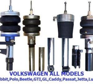 1985-1993 Volkswagen Golf I, Rabbit, GTI, GTL, Vento Rear Air Suspension, Strut Kit (no fittings)