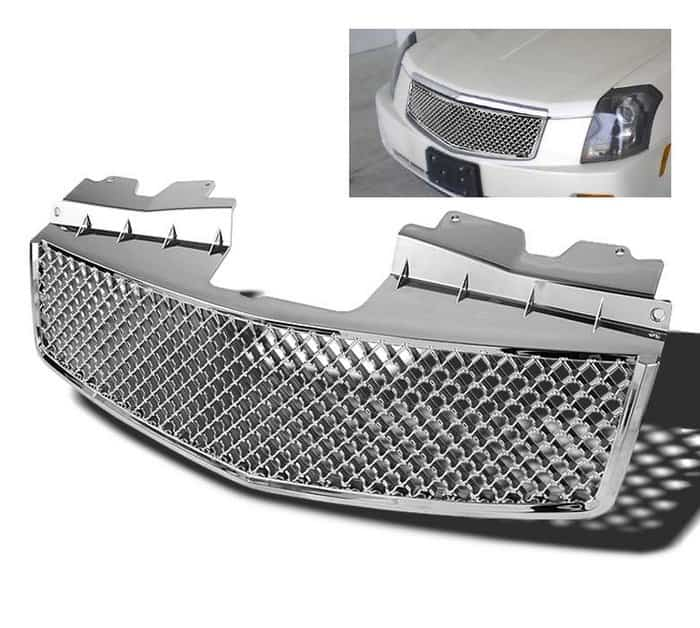 03-07 Cadillac CTS Front Grille - Chrome