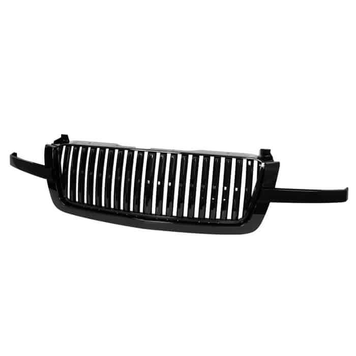 03-06 Chevy Silverado 3 PCS Front Grille - Black