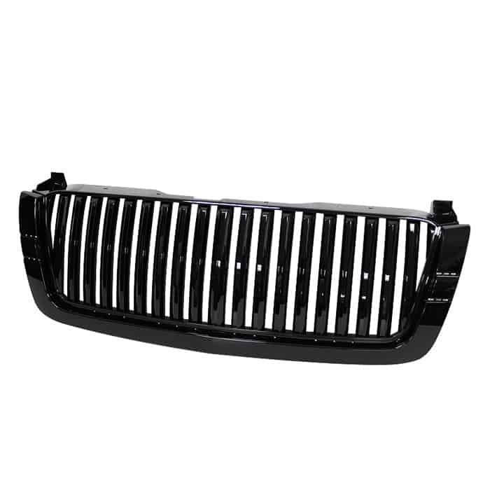 03-06 Chevy Silverado Center Only ( Require HD-YD-CS03-1PC Headlight ) Front Grille - Black