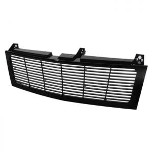 1500/2500/3500 Chevy Silverado 99-02 / Chevy Suburban 1500/2500 00-06 / Chevy Tahoe 00-06 Center Only ( Require HD-YD-CS99-1PC Headlight ) Horizontal Front Grille – Black