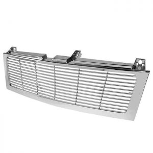 1500/2500/3500 Chevy Silverado 99-02 / Chevy Suburban 1500/2500 00-06 / Chevy Tahoe 00-06 Center Only ( Require HD-YD-CS99-1PC Headlight ) Horizontal Front Grille – Chrome