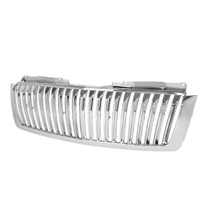 07-11/ Chevy Avalanche Tahoe Suburban 07-10 Front Grille – Chrome