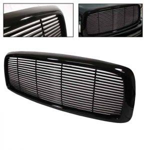02-05 Dodge Ram Front Grille – Black
