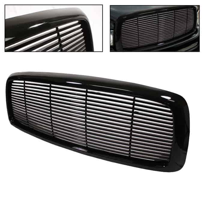 02-05 Dodge Ram Front Grille - Black