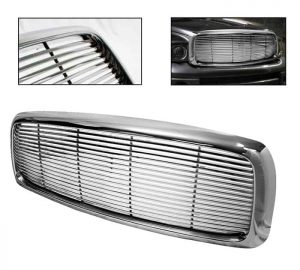 02-05 Dodge Ram Front Grille – Chrome