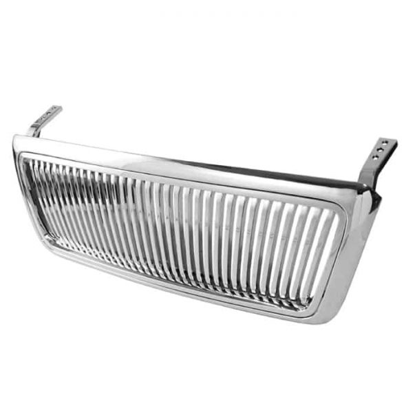 04-07 Ford F150 Vertical Front Grille – Chrome