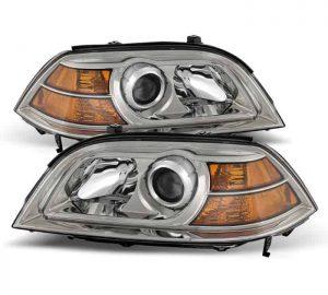 2004-2006 Acura MDX Crystal Headlights – Chrome