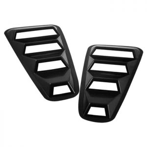 05-09 Ford Mustang 1/4 Window Louver -Black