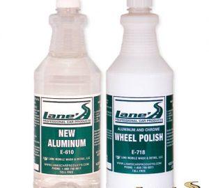 Aluminum Wheel Polish & Aluminum Wheel Cleaner Kit 16oz
