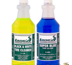 Super Blue Tire Gloss Shine and Tire Cleaner Kit 32oz