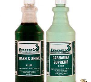 Car Wash Soap & Carnuba Wax Kit 16oz