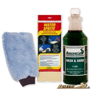 Car Wash Soap Water Sprite Wash Mitt Kit 32oz