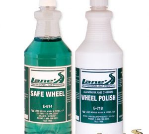 Chrome Wheel Polish and Chrome Wheel Cleaner Kit 32oz