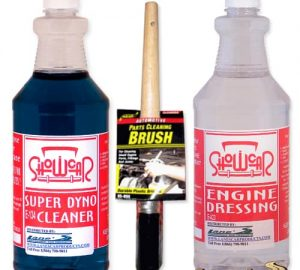 Show Car Engine Degreaser, Cleaner & Dressing Kit 16oz