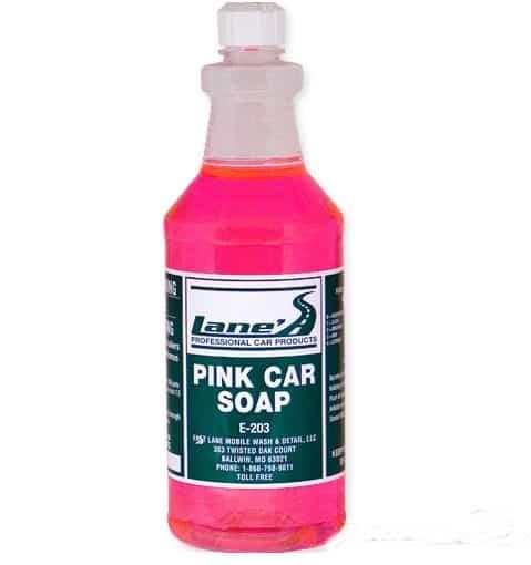 Pink Car Shampoo 16oz