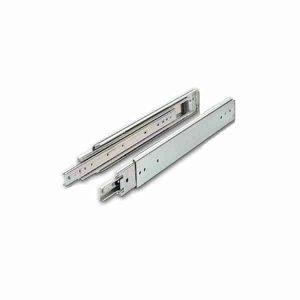 30 Inch Full Extension Telescoping Rail Set 100lbs (Pair)