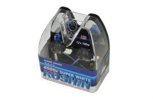 Super Koshin H3 White Halogen Light Bulbs 12V 100W