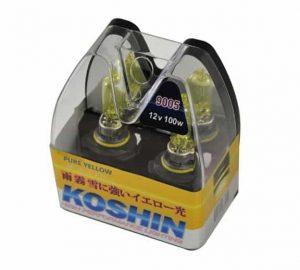 Hyper Koshin 9005 Yellow Halogen Light Bulbs 12V 100W