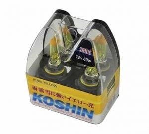 Hyper Koshin 9006 Yellow Halogen Light Bulbs 12V 80W