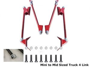Light Duty Triangulated 4 Link Rear Air (For Leaf Spring Suspension)