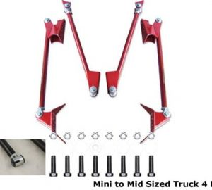 Mini Truck Light Duty Triangulated 4 Link Rear Air