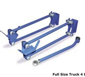 Full Size Heavy Duty Parallel 4 Link with Panhard Bar for Rear Truck, SUV Air