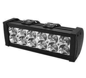 Bar Aluminum Lights – 10 Inch 12pcs 3W LED 36W – Black