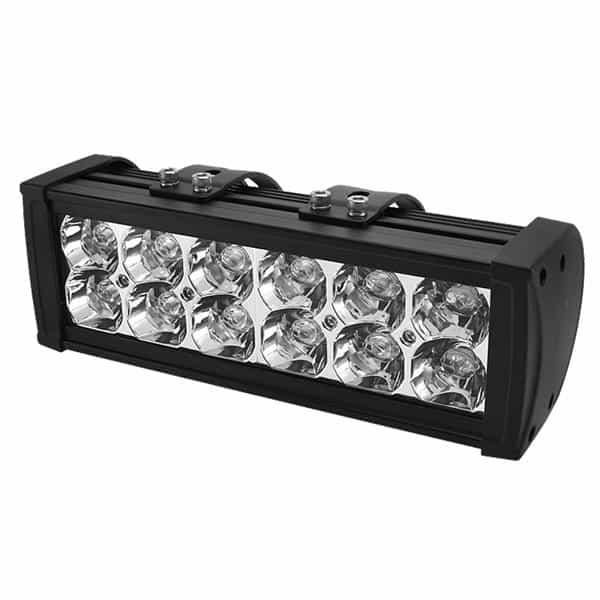 Bar Aluminum Lights - 10 Inch 12pcs 3W LED 36W - Black